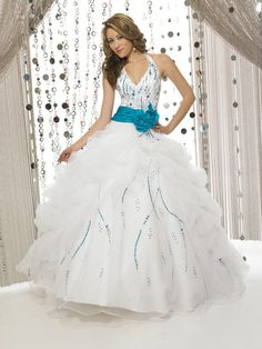 Quinceañera Ball Dress Sweet Sixteen Dress MBD8229
