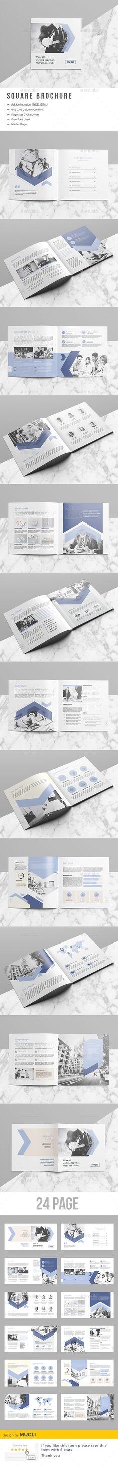 Company Square Brochure - Corporate Brochures Download here : https://graphicriver.net/item/company-square-brochure/19632878?s_rank=140&ref=Al-fatih