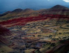 10 of the strangest things to see in the Pacific Northwest, Painted Hills Oregon