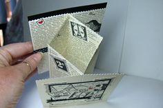 Splitcoaststampers - Tutorials Concertina fold - interesting looking card.