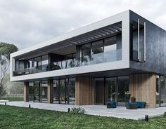 Modern house in Moscow region