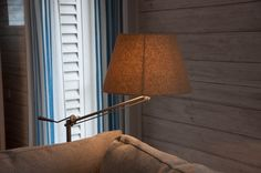 Swing arm floorlamp with all the adjustability one needs!
