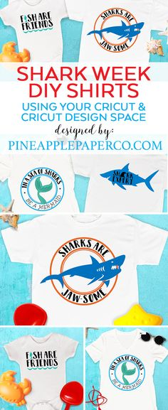 DIY Shark Week T-Shi