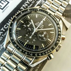 #omega #speedmaster #moonwatch #sold to #collector in #everett #washington - more #watchforsale at www.watchvaultnyc.com #watchporn