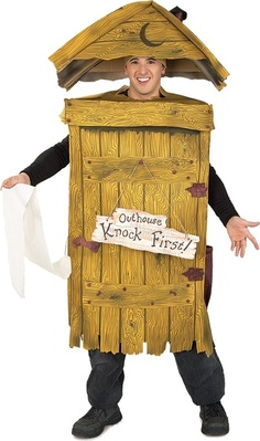 Outhouse Adult Costume