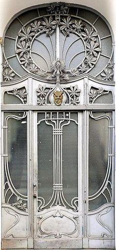 (door,berlin,art nouveau)