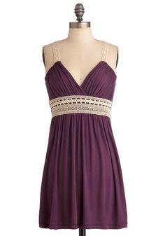 Plum Inspired Dress, #ModCloth