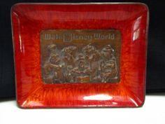Vintage Walt DIsney World Country Bears Jamboree Candy Trinket DIsh Made in USA