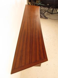 Nakashima For Widdicomb Floating Buffet In Rosewood And Walnut