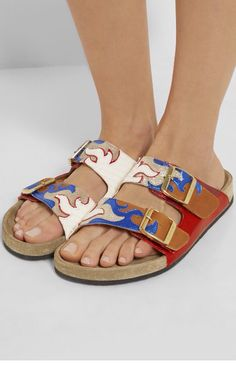 aebcbb7f6b9f Isabel Marant gail sandales Birkenstock Sandals