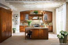 Rustic Italian Home – La Bella Vita Rustic Italian, Italian Home, Italian Furniture, Traditional Kitchen, Liquor Cabinet, Italian Kitchens, Rustic Kitchens, Sweet Home, House Design