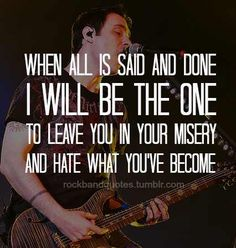 Had enough by Breaking Benjamin