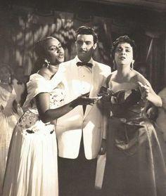 Celia Cruz with Ester Borja and Isidro Camara in Cuba circa 1950's #CeliaCruz #cuba #cmq #radioprogeso #azucar #salsa #1950s #sonoramatancera #guarachas #tropicana #habana #havana #esterborja #isidrocamara #world #cubansinexile #cubansinnewyork #cuban #estadosunidos #unitedstates by fraancescooalcedo