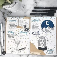 "744 Likes, 10 Comments - The Journal Life (@the.journal.life) on Instagram: ""This is so calming @booksofnotes • • • #bujo #bulletjournals #bulletjournal #bullet #journal…"""