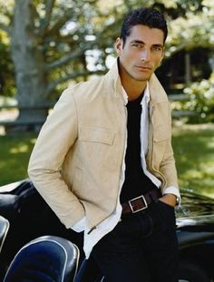 David Gandy  **-** I'm liking him more and more for Gideon Cross!