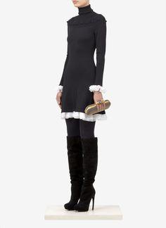 Image result for alexander mcqueen black high heels