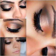 Spring Makeup Tutorial: Copper Eyes