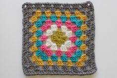 Traditional Granny Square...no pattern
