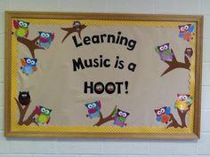 My Fall 2012 Music Bulletin Board- original idea- mine- pianogal89! Love how it turned out.