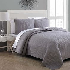 American Home Copper Grove Avon Quilt Set (full/queen - Taupe (Brown)) (Cotton, Solid Color) Bed Sets, Style At Home, Twin Quilt, Queen Quilt, Fine Linens, Quilt Sets, Duvet Cover Sets, Comforter Sets, American