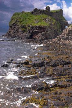 Dunscaith Castle on the Isle of Skye