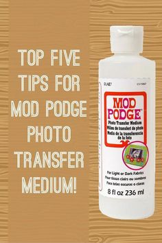If you are wondering how to use Mod Podge photo transfer medium to transfer pictures, here are all of my top tips. If you've had fails . learn how to make successful projects with this article! Photo transfer is perfect for canvases, gift ideas, mixed m Modge Podge Photo Transfer, Modge Podge On Wood, Transfer Picture To Canvas, Photo Transfer To Wood, Diy Mod Podge, Mod Podge Crafts, Foto Transfer, Mod Podge Ideas, Diy Crafts