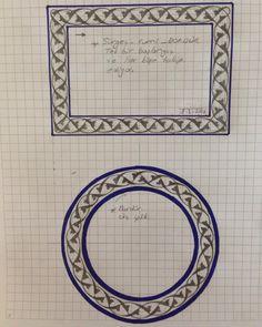 Celtic Knot Tutorial, Turkish Pattern, Islamic Patterns, Iranian Art, Turkish Art, Paper Ornaments, Arabic Art, Celtic Art, Calligraphy Art