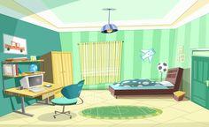 Child room by Somayeh Yazdanpanah, via Behance