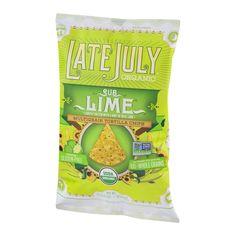 Late July Organic Multigrain Tortilla Chips Sub Lime