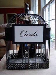 birdcage card box