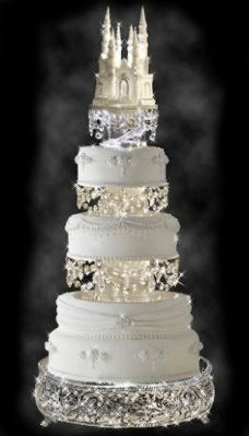 GIF Extravagant Wedding Cakes, Beautiful Wedding Cakes, Gorgeous Cakes, Amazing Cakes, Beautiful Gorgeous, Pretty Cakes, Absolutely Gorgeous, Super Torte, Fairy Tale Crafts