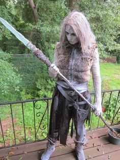 White walker costume