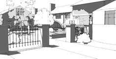 Ryan Waggoner landscape architecture...SketchUp Podium design