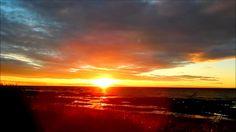June 22nd Coastal Sunset from Sainte-Anne-Des-Monts Beach
