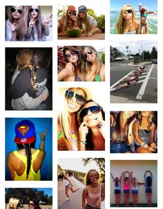 Cute bestfriend picture ideas!! I so doing most of these with my BFF! ♥♥♥♥♥