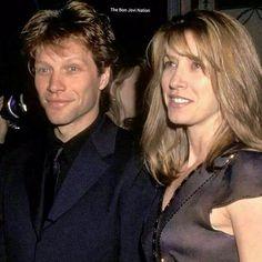 Jon Bon Jovi (Bongiovi) & Dorothea Bongiovi circa 1998. Credit to @bonjovimemories, Instagram.