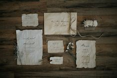 Take the rustic theme to the max with this authentic weathered feel to your wedding stationery. Vintage Country Weddings, Chic Vintage Brides, Rustic Weddings, Wedding Shit, Wedding Stuff, Wedding Ideas, Rustic Theme, Rustic Barn, Vintage Wedding Stationery