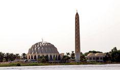 Hamed el Nil Moschee im Sudan Reiseführer http://www.abenteurer.net/2958-sudan-reisefuehrer/