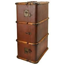 Overbearing mother steamer trunk, very traditional