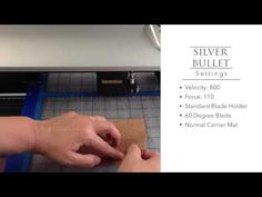 Cutting Cork Liner with the Silver Bullet Professional - YouTube