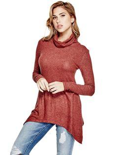 Jasmine Cowl-Neck Sweater