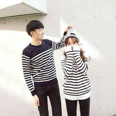 Asian couple fashiom