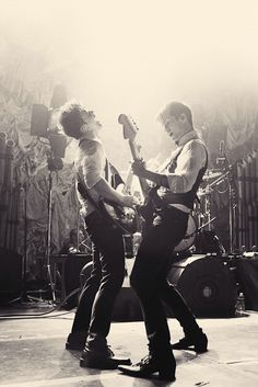 Dallon Weekes and Brendon Urie #Panic! At The Disco