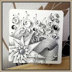 Lily's Tangles: My new pattern: Caracole