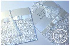 Metallic PURE Wedding Invitation   Black Tie Wedding Invitations Blog   http://blacktieweddinginvitations.com.au/galleries/classic-wedding-invitations/pure