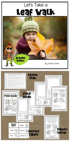 "This walk centers around the inquiry question, ""What trees can we find at our school?"" and invites children to explore the answer through a leaf collecting walk. This resource includes a complete lesson plan outlining what to do before, during, and after the walk as you get outdoors and explore nature with children."