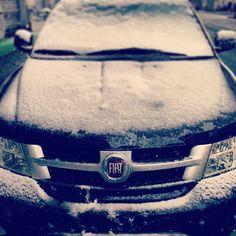 #Fiat #Freemont Anche sui più indomiti cade candida la neve...