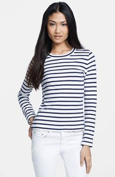 Always on the hunt for great striped tees.