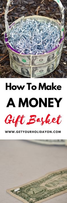 Bucket full of money filled easter eggs a cute money gift idea how to create a money gift basket negle Gallery
