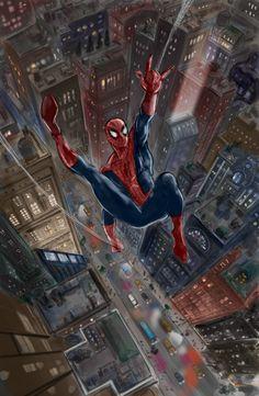 #Spiderman #Fan #Art. (Spiderman) By: Spideycol. (THE * 5 * STÅR * ÅWARD * OF: * AW YEAH, IT'S MAJOR ÅWESOMENESS!!!™)[THANK Ü 4 PINNING!!!<·><]<©>ÅÅÅ+(OB4E)